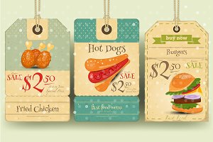 Fast Food Tags Price