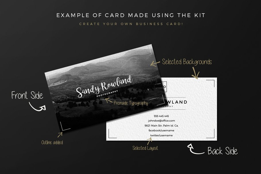 Business Card Creation Kit - Business Card Templates | Creative ...