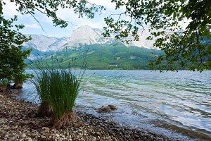 Alpine mountain lake