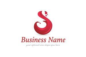 S Wine Splash Logo