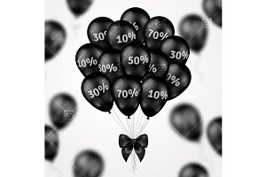 Blck friday balloons 2