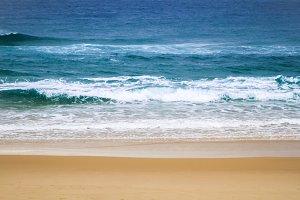 Blue Waves at Salt Beach