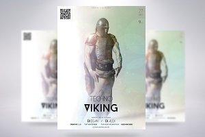 Techno Viking Flyer