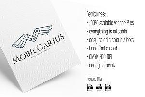 MobilCarius logo