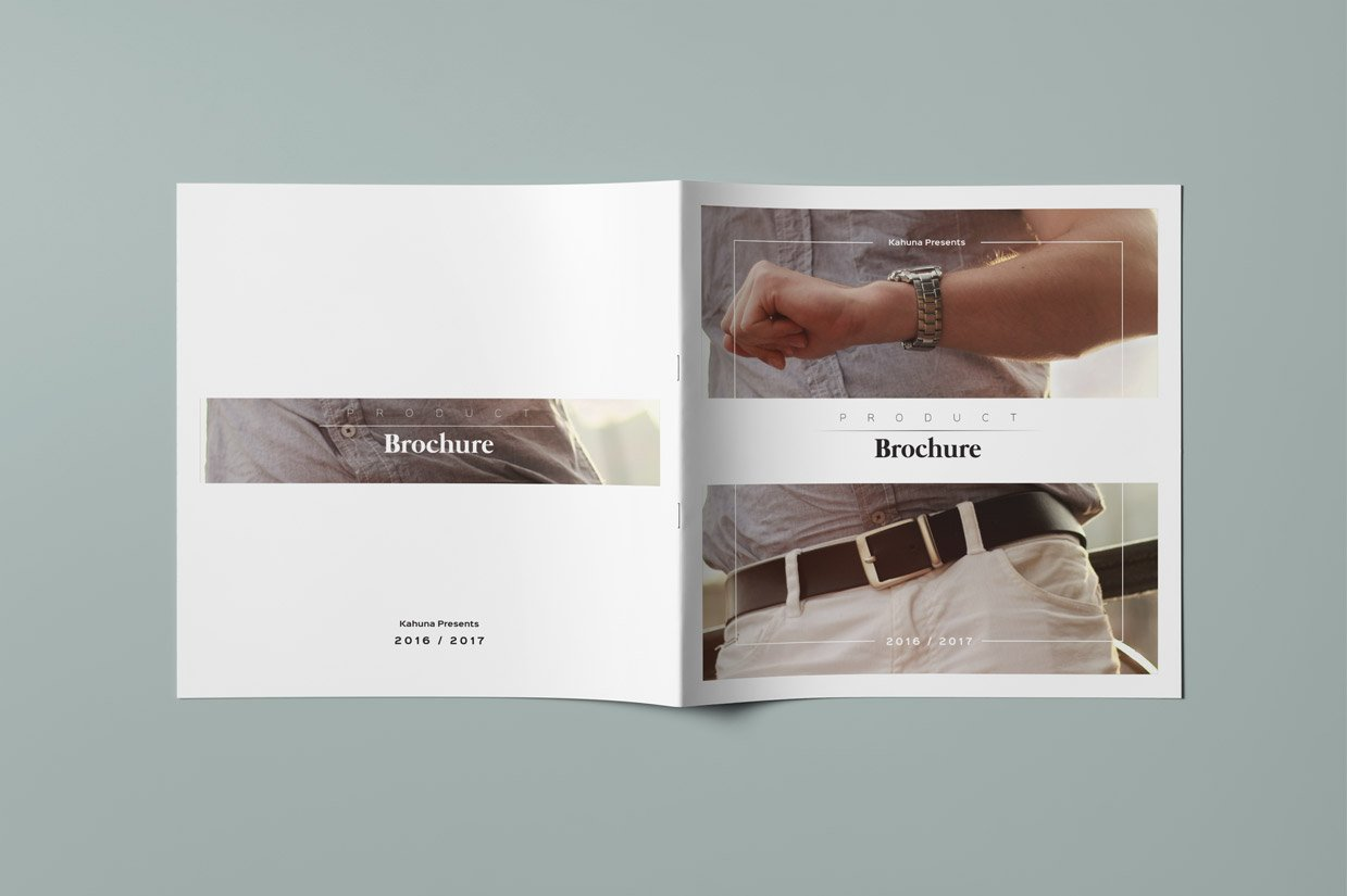 Product Square Brochure Catalog 3 Brochure Templates