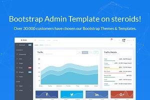 Prime Bootstrap 4 Admin Template