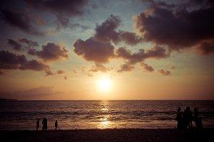 Sunset in Bali