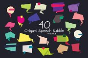 40+ Origami Speech Bubbles