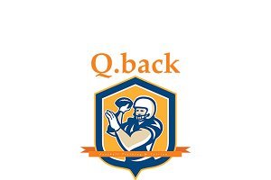 Q Back American Football Training Lo