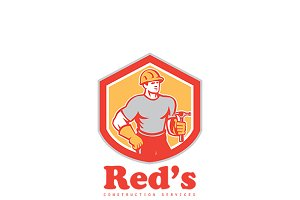 Red's Construction Services Logo