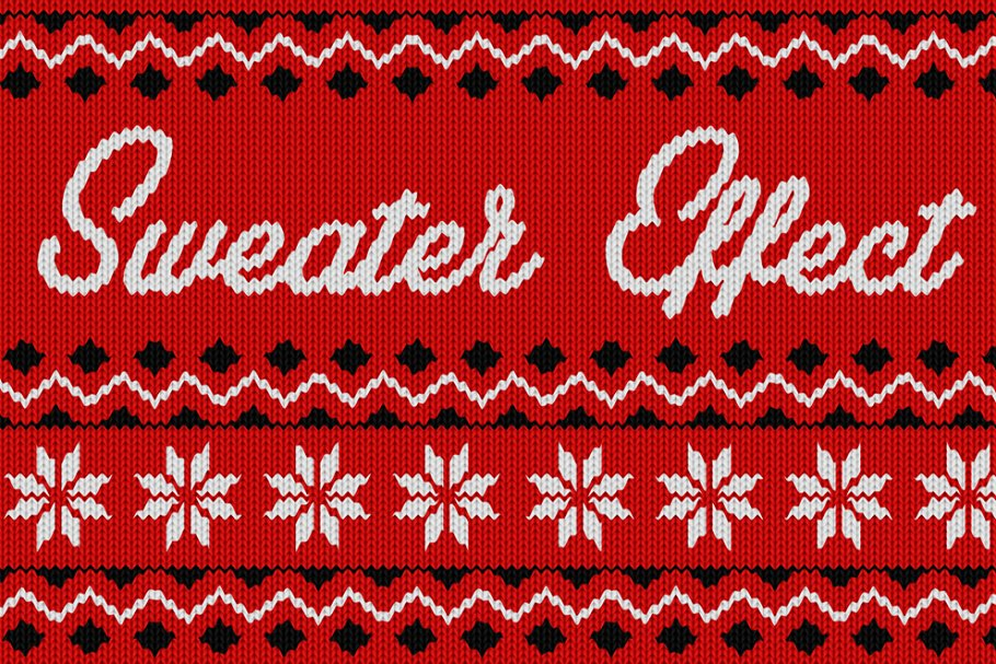 c4a99f8fd Christmas Sweater Effect ~ Textures ~ Creative Market