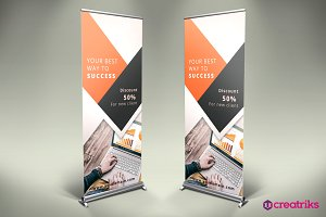 Business Roll Up Banner - v002