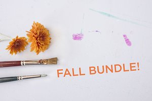 FALL BUNDLE - FLAT LAYS