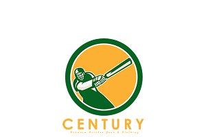 Century Premium Cricket Gear Logo