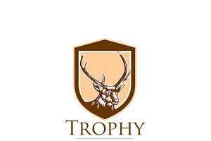 Trophy Association Deer Hunters Logo