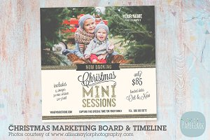 IC008 Christmas Marketing Board