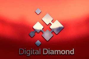 Diamond Pixel Digital Internet Logo