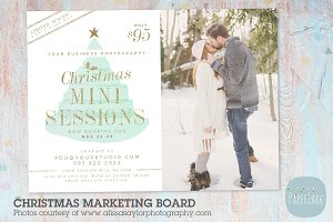 IC030 Christmas Marketing Board