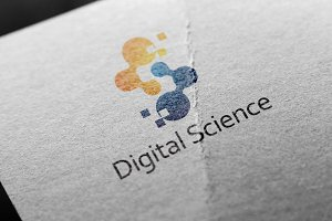 Digital Science Pixel Pair Logo