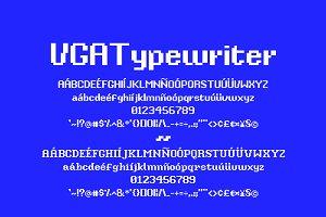 VGA Typewriter