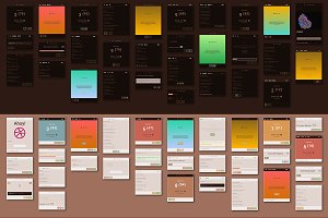 Copper 10,000 Card UI Kit