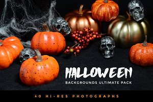 Halloween Backgrounds Ultimate Pack