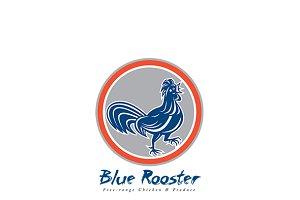 Blue Rooster Free Range Chicken Logo