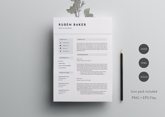 3 Page Resume Template | INDD + DOCX Simple Resume Format Docx File Download on simple resume form, resume finalize download, simple resume examples and samples, resume pattern download, simple basic resume template, simple easy resume template, simple resume download templates, simple professional resume template,