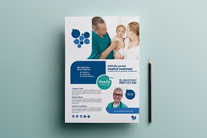 Healthcare Clinic Poster Template 3