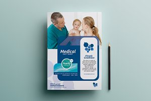 Healthcare Clinic Poster Template 2