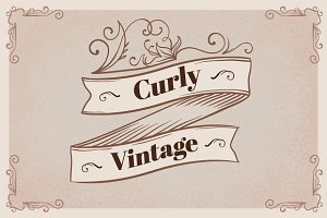 Curly Vintage Collection