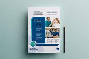 Healthcare Clinic Poster Template
