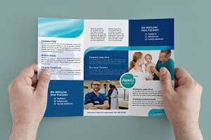Trifold Healthcare Clinic Template