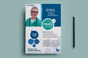 Healthcare Clinic Flyer Template 2