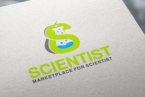 Scientist Market | Logo Template