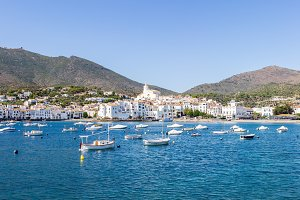 View of Cadaques, Catalonia, Spain.