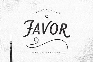 Favor Typeface