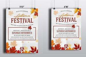 Autumn Festival Flyer Template-V404