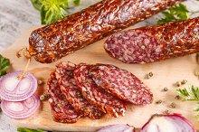 Salami smoked sausage