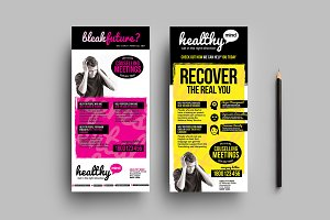 Healthy Mind DL Card Template