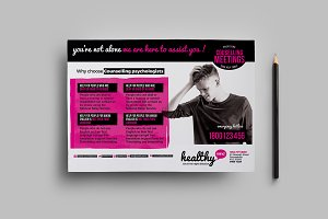 Healthy Mind Flyer Template