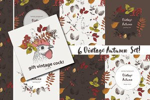vintage autumn set