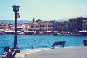 Chania old harbor
