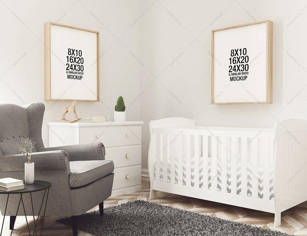 Nursery Frame Mockup ~ Product Mockups ~ Creative Market