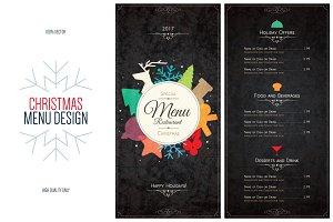 Special Christmas festive menu