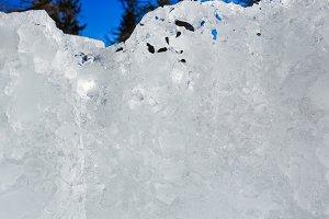 Winter ice figures
