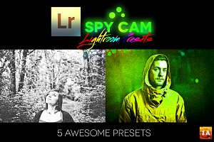 Spy Cam Lightroom Presets