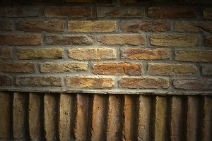 Nice Textured Wall Faded Background