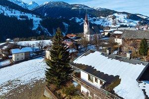 Mountain Liesing village (Austria).
