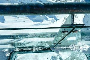 Winter Dachstein mountain (Austria)